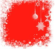 Decorative winter background Royalty Free Stock Photography