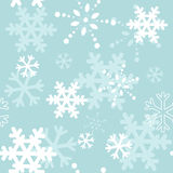 Decorative winter Christmas seamless texture Royalty Free Stock Image