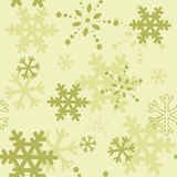 Decorative winter Christmas seamless texture Royalty Free Stock Images