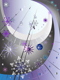 Decorative winter composition Royalty Free Stock Photography