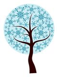 Decorative winter tree,  Royalty Free Stock Photo