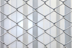 Decorative wire mesh metal. Stock Images