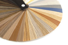 Decorative wood palette guide. Interior design. Royalty Free Stock Photos
