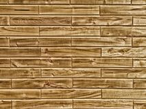Decorative wooden background, set from different ecological rectangle wood tiles, brown aged plank, natural color Royalty Free Stock Image