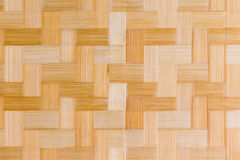 Decorative wooden bamboo texture and pattern Stock Photography