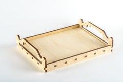 Decorative Wooden box Royalty Free Stock Photos