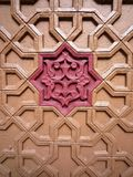 Decorative wooden panel Stock Image