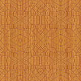 Decorative wooden pattern Royalty Free Stock Image