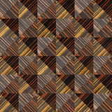 Decorative wooden pattern - seamless background - Ebony wood Royalty Free Stock Images