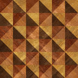 Decorative wooden pattern for seamless background Stock Image