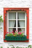 Decorative wooden window Stock Photography