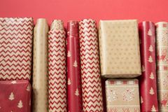 Decorative wrapping papers royalty free stock photos