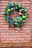 Decorative wreath royalty free stock photo