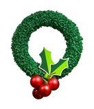 Decorative wreath royalty free stock photos