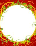 Decorative Wreath Background 2 Stock Photography