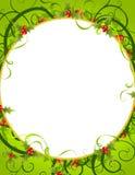 Decorative Wreath Background Royalty Free Stock Photo