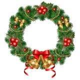 Decorative wreath Stock Photos