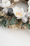 Decorative wreath with flowers Royalty Free Stock Photography