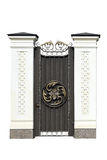Decorative wrought  iron door. Stock Photography