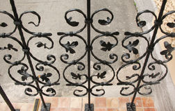 Decorative wrought-iron grille. Stock Photography