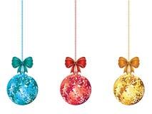 Decorative Xmas Balls Stock Images
