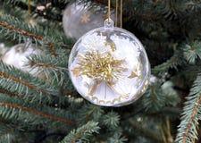 Decorativo agradable de la Navidad imágenes de archivo libres de regalías