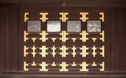 Decorato al palazzo imperiale di Kyoto, Giappone Fotografia Stock