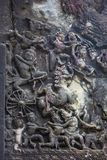 Decorato a Angkor Wat Fotografie Stock Libere da Diritti