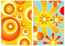 decorazione 70s Fotografie Stock Libere da Diritti