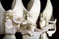Decorazione angelica Fotografie Stock Libere da Diritti