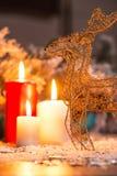 Decorazione anno di nuovo e di natale Immagine Stock Libera da Diritti