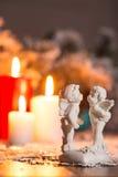 Decorazione anno di nuovo e di natale Fotografia Stock Libera da Diritti