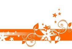 Decorazione arancione Fotografia Stock Libera da Diritti