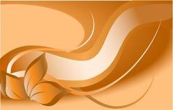 Decorazione arancione Fotografie Stock