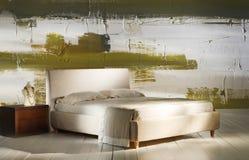 Decorazione artistica della camera da letto Fotografia Stock