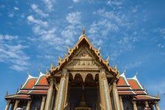 Decorazione artistica di grande palazzo Fotografia Stock Libera da Diritti