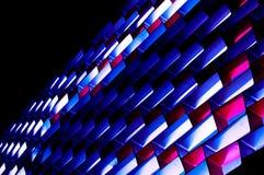 Decorazione astratta di illuminazione Fotografia Stock Libera da Diritti