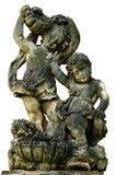 Decorazione barrocco del giardino del cherubino Fotografie Stock Libere da Diritti