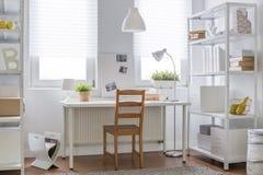 Decorazione bianca e marrone Fotografie Stock