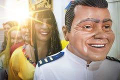 Decorazione brasiliana di carnevale Fotografia Stock