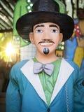 Decorazione brasiliana di carnevale Fotografie Stock