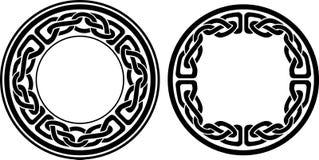 Decorazione celtica d'annata rotonda Fotografia Stock Libera da Diritti