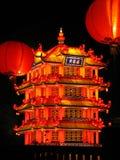 Decorazione cinese Fotografia Stock Libera da Diritti