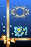 Decorazione classica floreale illustrazione vettoriale