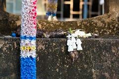 Decorazione d'annata della direzione del fiore per colore pastello dell'amuleto immagine stock