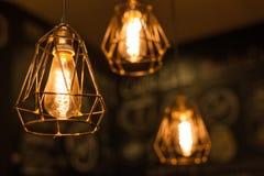 Decorazione d'annata di illuminazione Fotografia Stock Libera da Diritti