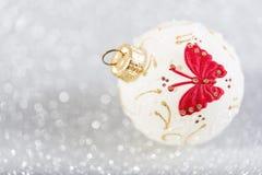 Decorazione d'annata festiva di Natale Immagine Stock