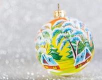 Decorazione d'annata festiva di Natale Fotografia Stock