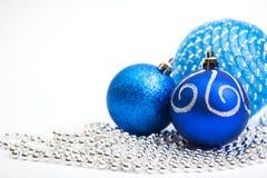 Decorazione d'annata festiva di Natale Fotografie Stock