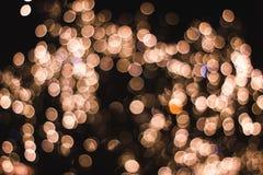 Decorazione Defocused di Natale fotografia stock libera da diritti